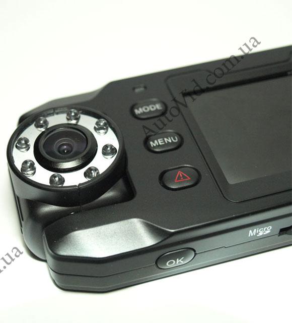 Двухкамерный видеорегистратор X8000