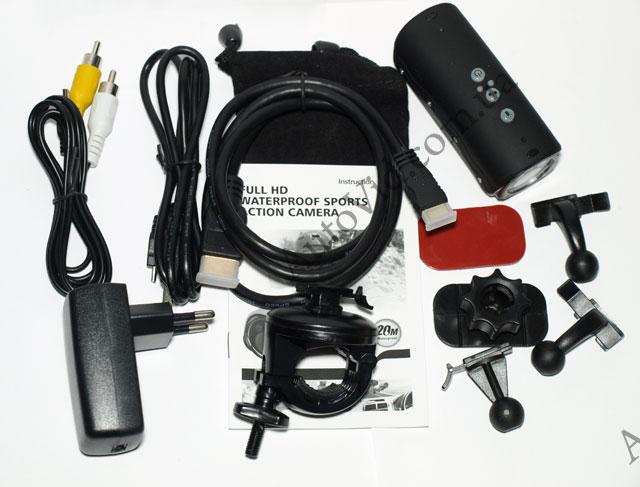 Комплектация RD32 II Full HD