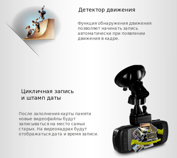 Автомобильный відеореєстратор DOD LS430W