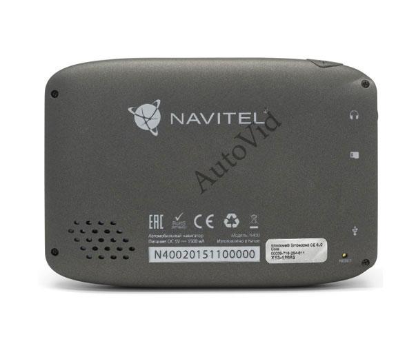 Обзор автомобильный навигатор Navitel N400