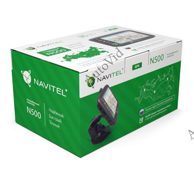 Обзор gps навигатор Navitel N500