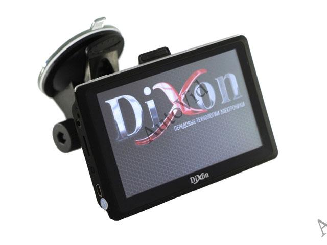 Обзор автомобильный навигатор Dixon X505