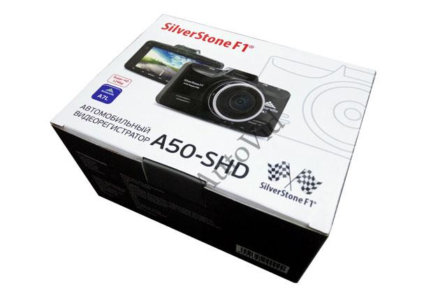 Комплектация SilverStone F1 A50 SHD, 2К видео