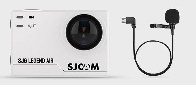 Экшн камера SJCAM SJ6 Legend Air с внешним микрофоном