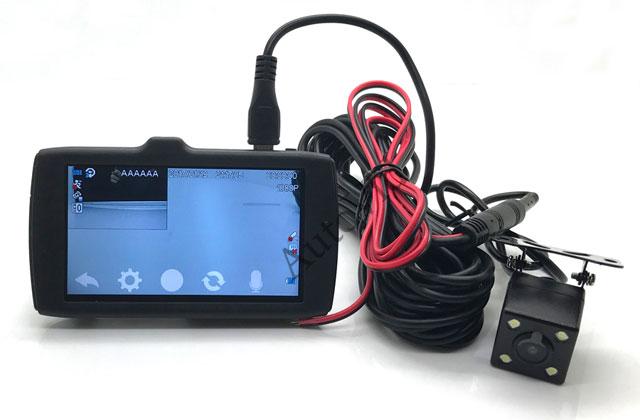 Двухкамерный Full HD видеорегистратор Anytek