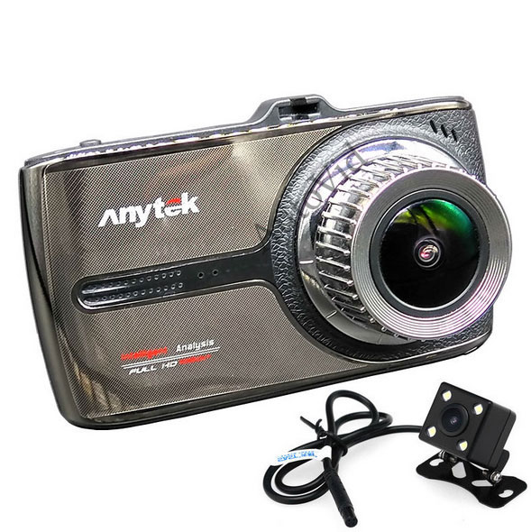 Видеорегистратор Anytek G66 на 2 камеры