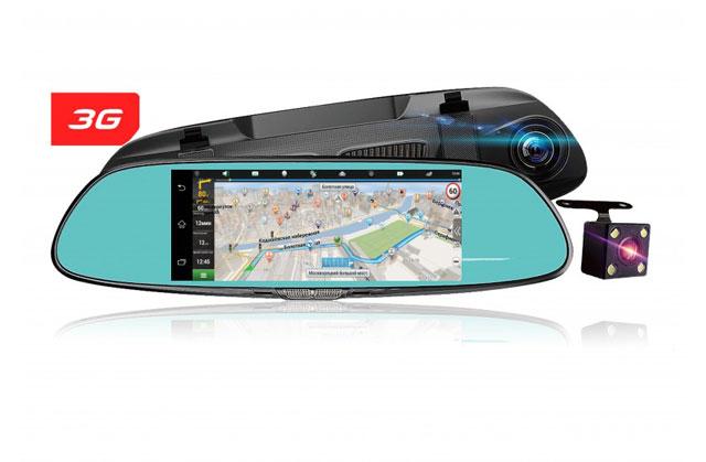 Android видеорегистратор и GPS навигатор Dixon M9