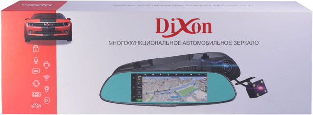 Цена и отзывы о зеркале с регистратором Dixon M9
