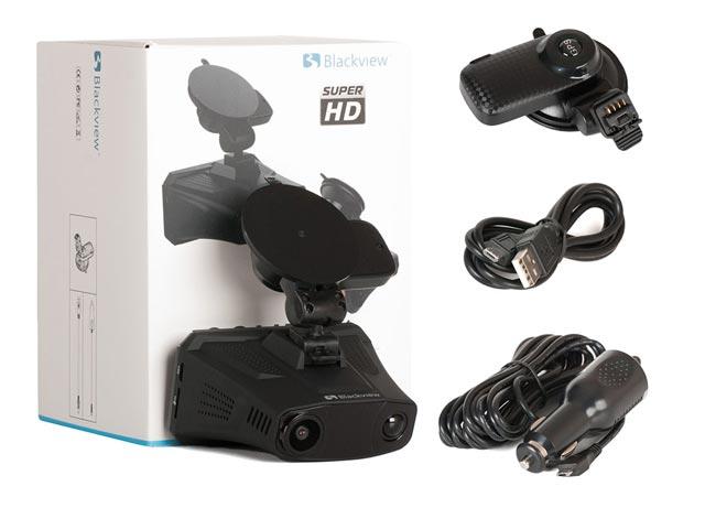 SuperHD антирадар с GPS и регистратор Blackview COMBO