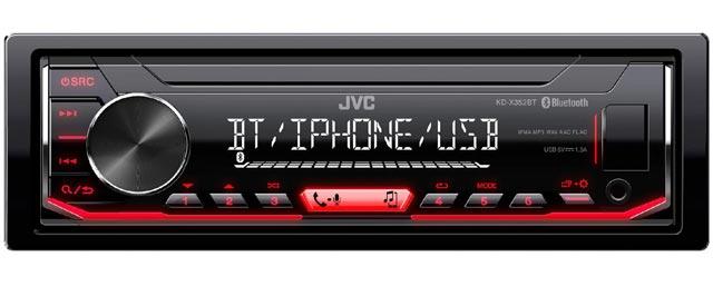 Автомагнитола JVC KD-X352BT с DSP процессором