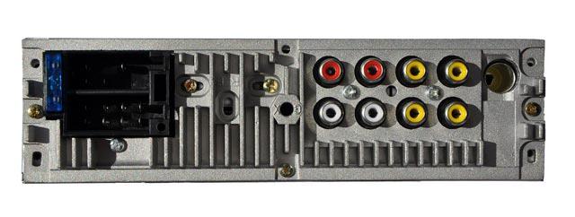 1DIN автомагнитола с дисплеем и камерой заднего вида